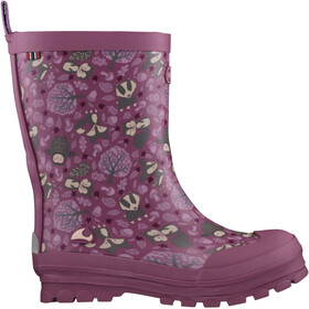Viking Footwear Jolly Woodland Boots Kids dark pink/multi